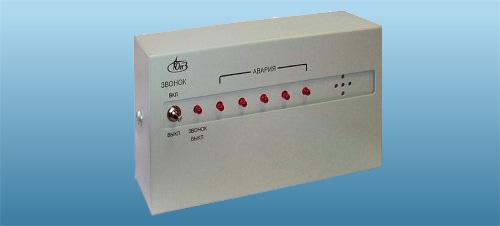 Табло общей сигнализации ТОС-5